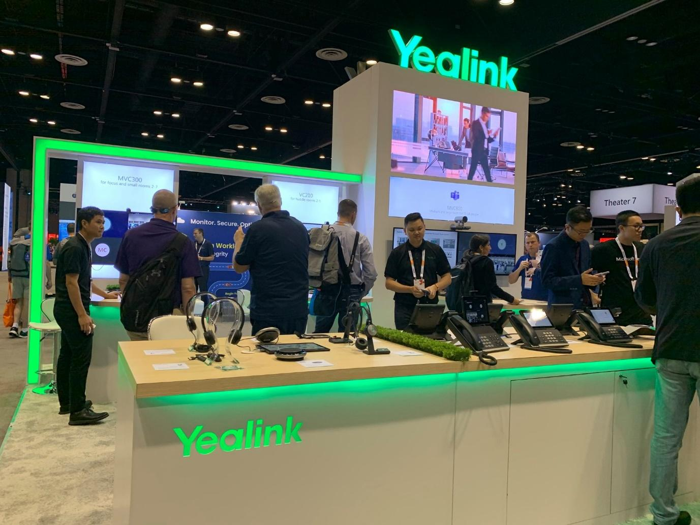 Yealink unveils new Microsoft Teams Certified devices at Microsoft Ignite