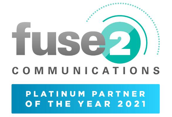 Infinitel Receives Fuse 2 Communications Platinum Partner of The Year Award